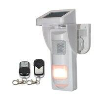 DIY voice recorder outdoor PIR motion sensor waterdichte infrarood detector 433mhz draadloze OEM IP65 waarschuwing apparaat speaker