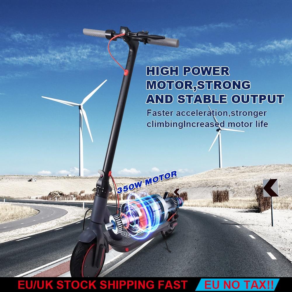 AOVO – trottinette électrique pour adulte 2021 PRO, 365 pouces, Double roue, 30 KM/h, charge IP65, 8.5 KG, autonomie de 30 à 35km, 120