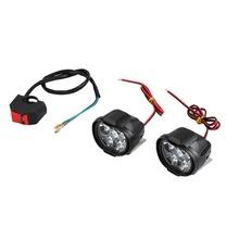 2 szt Uniwersalny reflektor motocyklowy LED do jazdy lustrzane reflektor przeciwmgielny reflektor lampa pomocnicza boczne światło lustrzane tanie tanio 6500 k 12 v CN (pochodzenie) 1000
