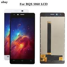 גבוהה באיכות נבדק היטב עבור BQ BQS 5060 BQS 5060 Slim LCD תצוגה + מסך מגע digitizer עצרת עבור BQ S 5060 LCD 5.0 אינץ