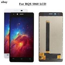 جودة عالية اختبار جيدا ل BQ BQS 5060 BQS 5060 ضئيلة شاشة الكريستال السائل + مجموعة المحولات الرقمية لشاشة تعمل بلمس ل BQ S 5060 LCD 5.0 بوصة