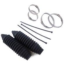 Универсальные силиконовые накладки на руль, накладки на руль + Кабельные стяжки + комплект зажимов для автомобильных деталей