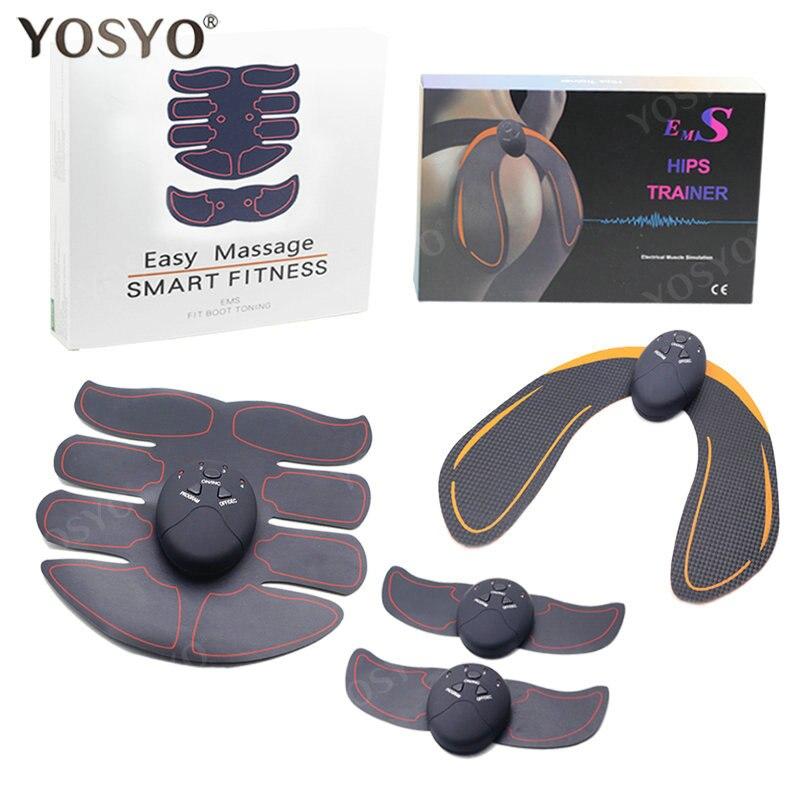 EMS тренажер для бедер стимулятор мышц ABS фитнес ягодицы подтяжка ягодиц тонер массажер для похудения унисекс 3