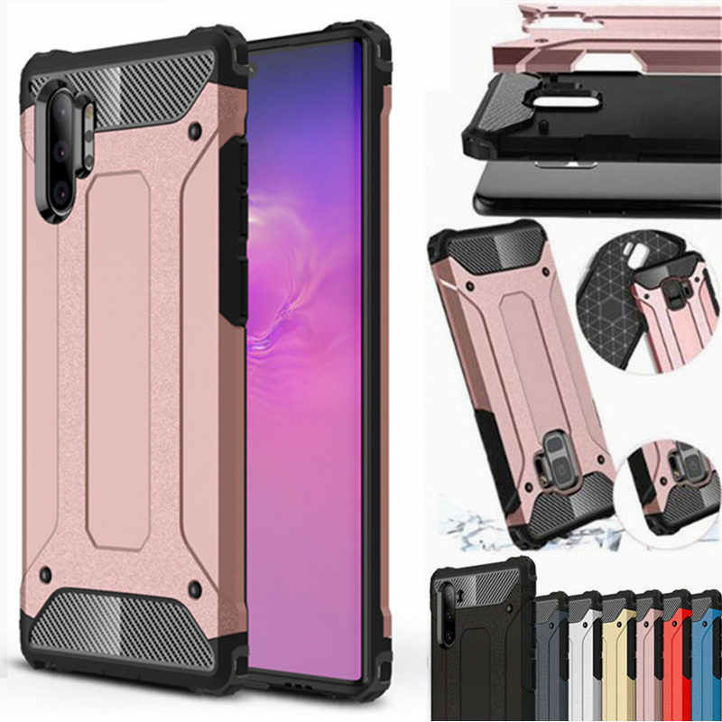 Hybrid Armor Case For Samsung Galaxy Note 10 plus S8 S9 S10 A90 5G A10 A20 E A30 S A50 A70 A51 A71 A81 A91 A21 A01 Rugged Cover