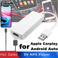 Car Play Link Dongle USB Portable Link Dongle Navigation Player Auto Link Dongle Smart Android Auto for Apple CarPlay MP5 Player