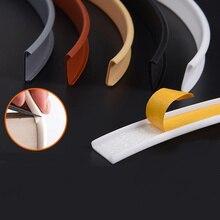 1 Meter Self Adhesive U Edge Banding Wood Furniture Wardrobe Board Shoe Cabinet Desk Edge Guard Strip Decoration PVC Edge Tape