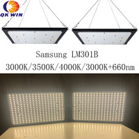 Quantum Board Samsung LM301B 3000K 120W 240W Full Spectrum Grow Light LED Meanwell Driver for Indoor Plants Veg Blooming