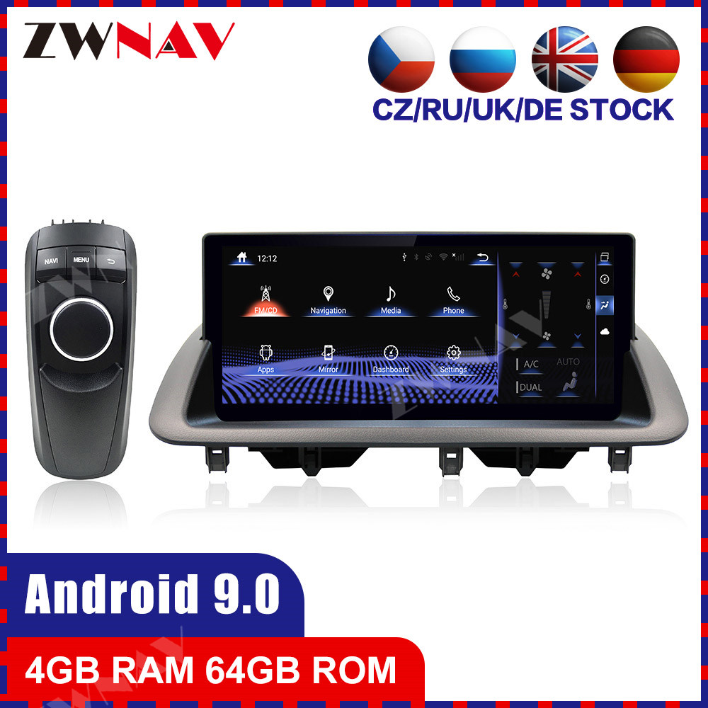 4G+64G Octa Core Android 9.0 Car multimedia Player For Lexus CT200 2011-2017 car GPS navigation WIFI Auto stereo radio head unit