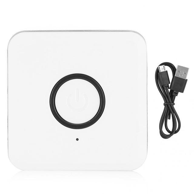 ABS الأبيض استقبال لاسلكي الارسال آلة المنزل معدات الصوت والفيديو الملحقات