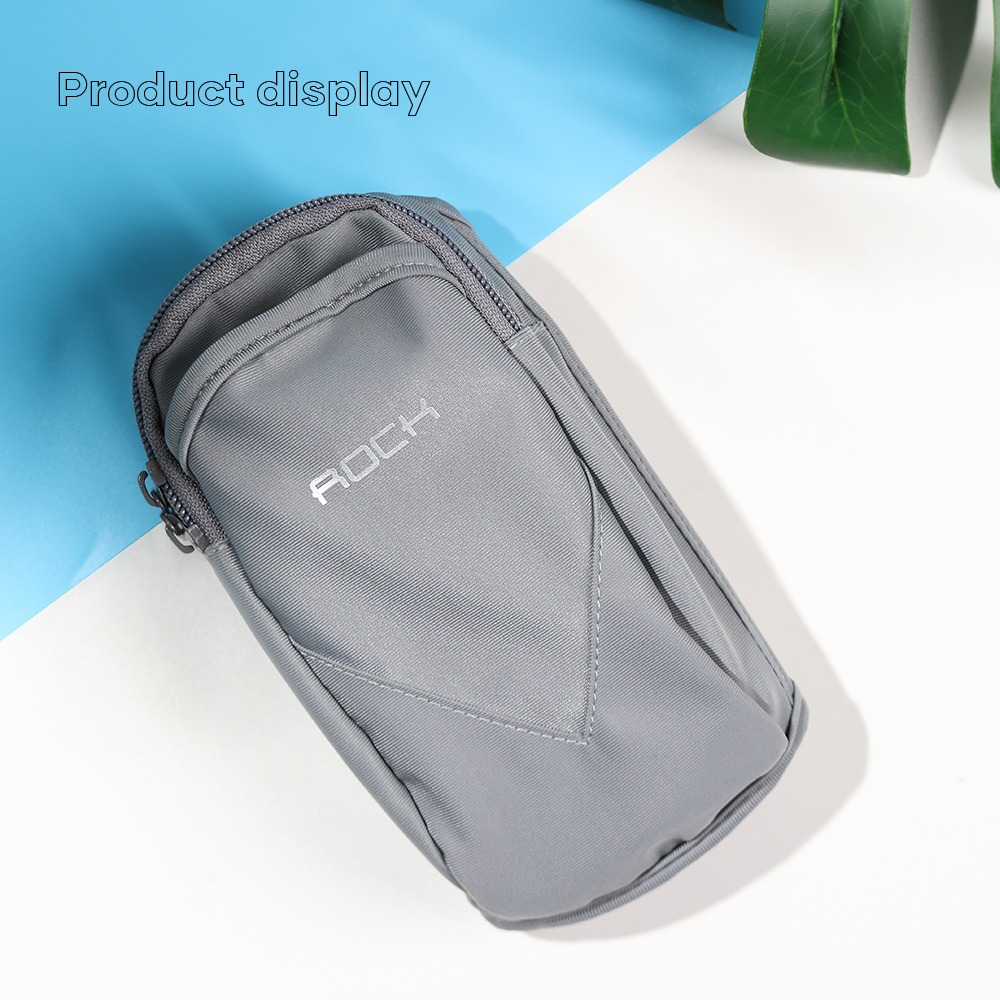ROCK Sport Armband Case For 4.0-6.5 inch Running Sport Phone Handbags For iPhone 12 11 Pro Max 6 7 8 PlusSamsung Note 20 Airpord