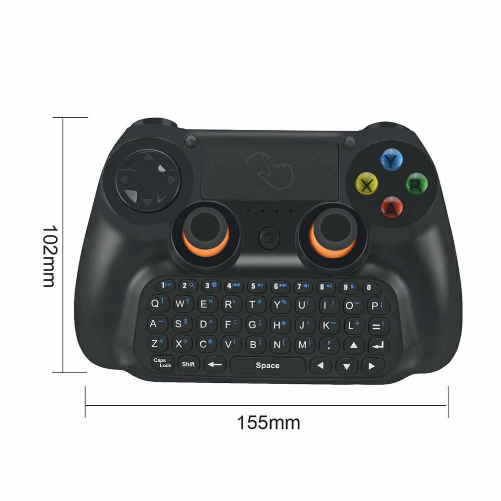 Купить с кэшбэком 3 in 1 Wireless Bluetooth Controller Gamepad Joystick with Touch pad and Keyboard for Android Phone PC Windows XP Win7/8 V3.0