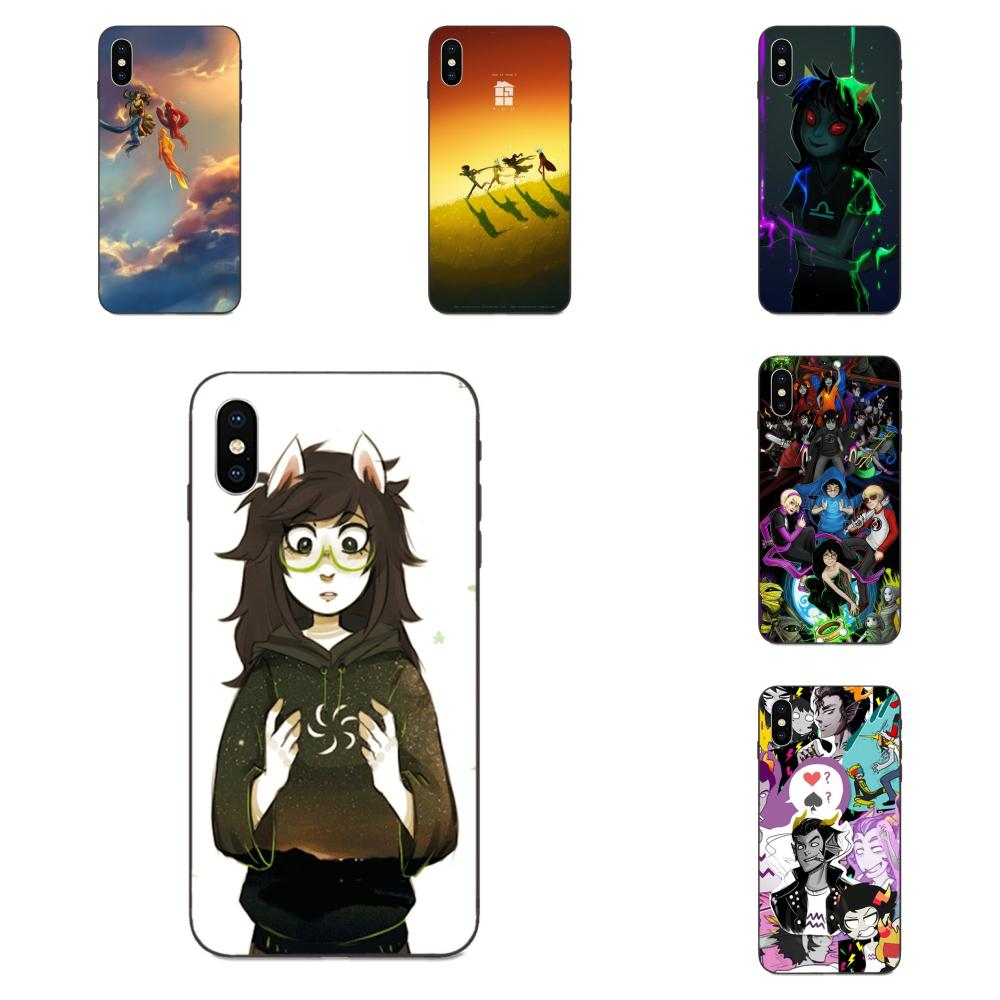 <font><b>Vertical</b></font> Phone <font><b>Case</b></font> Homestuck Aradia Trolls For <font><b>Xiaomi</b></font> <font><b>Mi</b></font> Mix Max Note 2 2S 3 5X 6 6X <font><b>8</b></font> 9 9T SE A1 A2 A3 CC9e Lite Play Pro F1 image