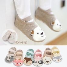 MOLIXINYU/Хлопковые носки для маленьких мальчиков и девочек; носки-тапочки; Детские носки с рисунками животных; сезон весна-лето-осень; носки-Тапочки