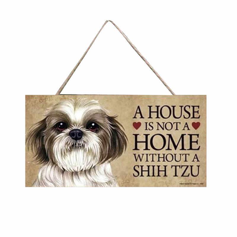 Tags para cães de madeira pingente retangular de madeira pet tag acessórios para cães adorável amizade animal jardim decoração para casa 2019 @ 5