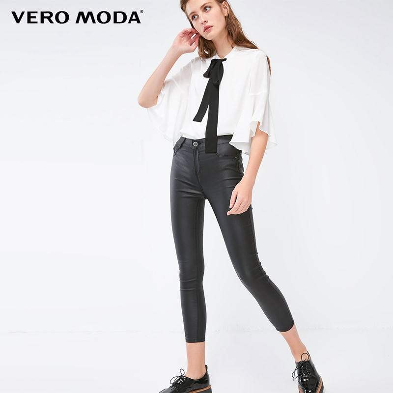 Vero Moda 2019 New Arrivals Women's Slim Fit Mid-rise Crop Jeans | 318349536