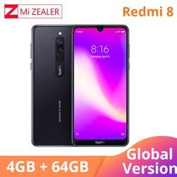 2019 Global Version Xiao Redmi 8 Smartphone 4GB RAM 64GB ROM Snapdragon 439 10W Fast Charging 5000 mah Battery Cellphone 3