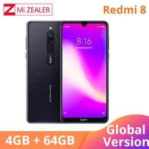 Image 3 - 2019 Global Version Xiao Redmi 8 Smartphone 4GB RAM 64GB ROM Snapdragon 439 10W Fast Charging 5000 mah Battery Cellphone