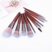 цена на Makeup Brushes Tool Set Cosmetic Powder Contour Eye Shadow Highlight Eyebrow Foundation Blush Blending Beauty Make Up Brush