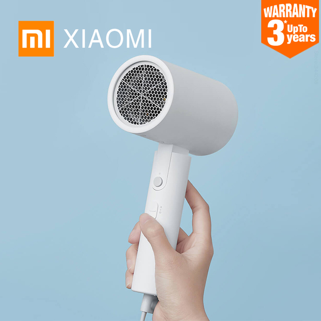 $ US $24.88 Original XIAOMI MIJIA Portable Anion Hair Dryer Nanoe Water ion hair care Professinal Quick Dry 1600W Travel Foldable Hairdryer