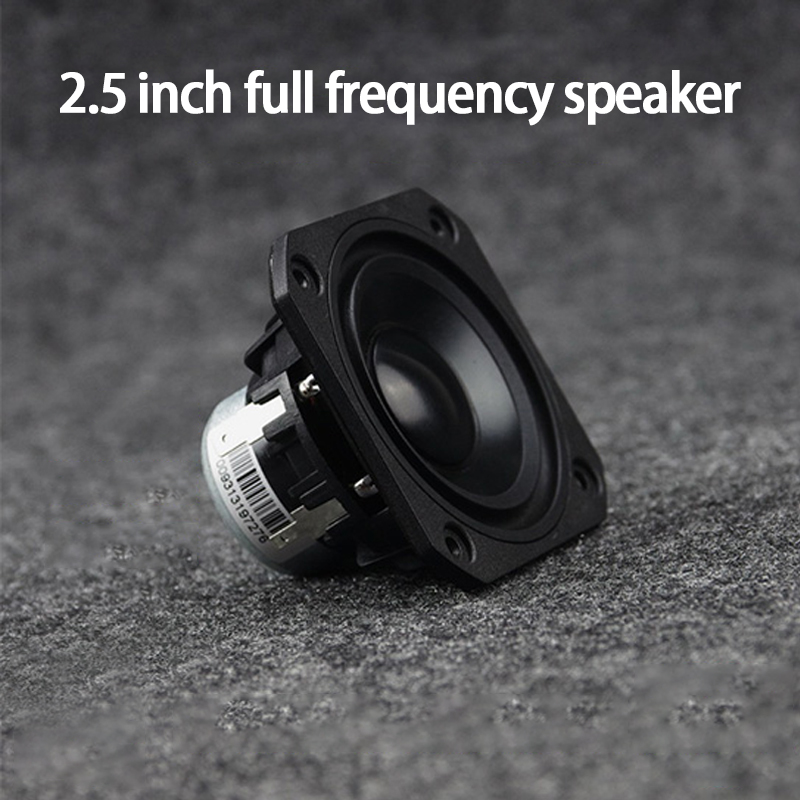 KYYSLB FR-25QY01-8 <font><b>15W</b></font> 4-<font><b>8ohm</b></font> 2.5 Inch Full Frequency <font><b>Speaker</b></font> Rare Earth NdFeB Magnet <font><b>Speaker</b></font> Computer <font><b>Speaker</b></font> Upgrade Horn image