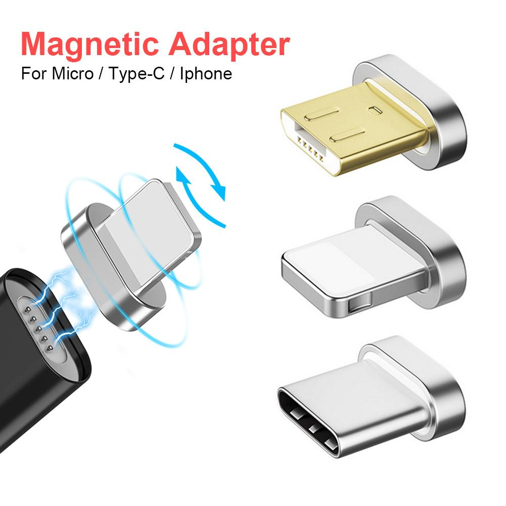 Magnetic Transfer Connector Magnetic Micro USB Connector Adapter Charging Cable Accessories