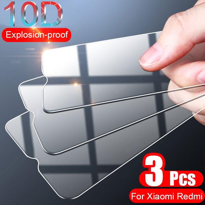 3 шт. полное покрытие Защитное стекло для Xiaomi Redmi Note 7 9 5 8 Pro 8T 9 Pro Max закаленное стекло для экрана Redmi 5 Plus|Защитные стёкла и плёнки|   | АлиЭкспресс