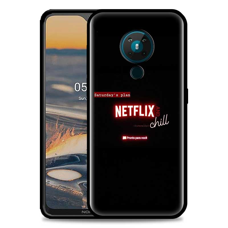 Watch Netflix TV Shows Phone Case For Nokia 5.4 1.4 7.2 5.3 2.3 3.4 3.2 4.2 2.4 8.3 5G