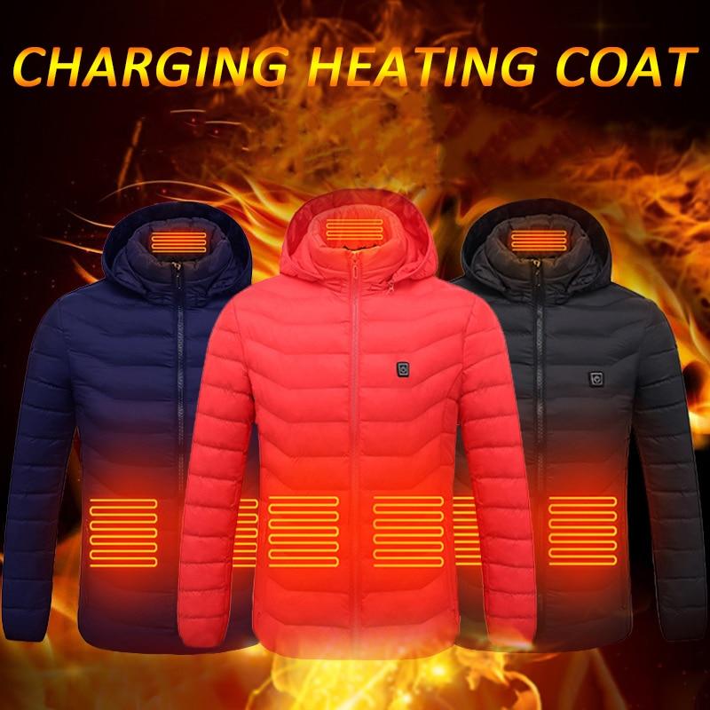 Xhaketa elektrike jelekë të nxehtë Veshje elektrike pambuku me - Kampimi dhe shëtitjet - Foto 5