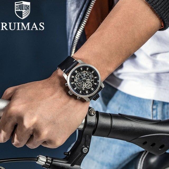 Ruimas Automatic Mechanical Waterproof Clock