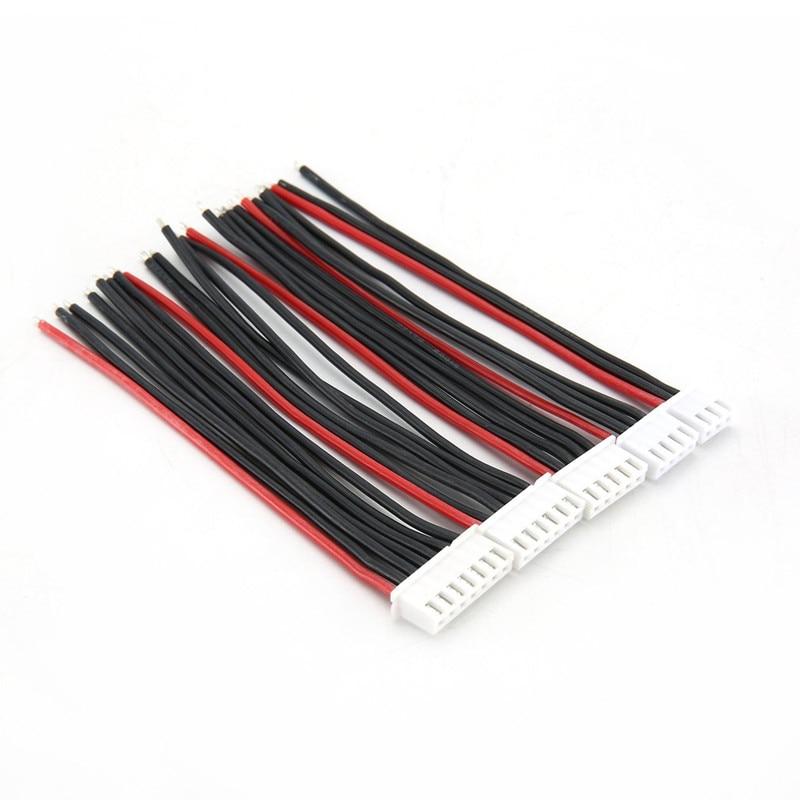 5pcs/lot 2S 3S 4S 5S 6S 7S 8S 9S Lipo Battery Balance Charger Cable IMAX B6 Connector Plug