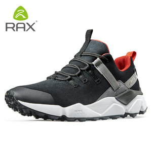 Image 5 - RAX New Mens Hiking Shoes Leather Waterproof Cushioning Breathable Shoes Women Outdoor Trekking Backpacking Travel Shoes Men