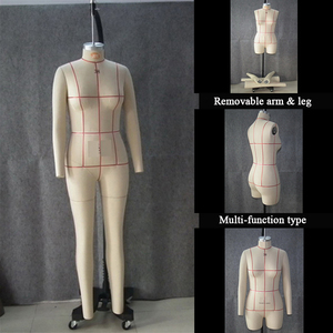 Factory direct custom selling female model EU and USA size Professional sewing dummy removable hand and leg dressmaker mannequin