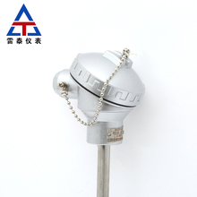 Pt100 temperature sensor probe wear-resistant thermocouple K-type explosion-proof temperature transmitter armored platinum therm 4 channel 328 2498 degree c f k type thermocouple 2gb sd card temperature wallmount thermometer logger
