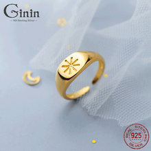 Ginin французской моды из 14 каратного золота с реальные 925
