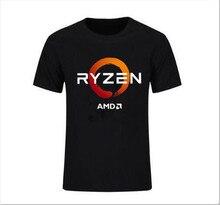 Neue Beliebte Amd Gaming Ryzen Cpu 2 Männer Schwarz T Shirt Größe S 3Xl Kühlen Casual Stolz T Hemd Männer unisex Neue Mode T-shirt Lose