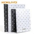 Japão kokuyo campus série caderno pontos a5/b5 material de pvc grosso impermeável não-desvanecimento bloco de notas WCN-CNB1641