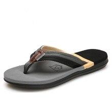 2019 Men's Summer Flip-flops Slippers Beach Sandals Indoor&Outdoor Couple Casual Shoes Man Platform Size 36-45