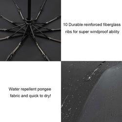 Xiaomi parasol odporny na wiatr automatyczny składany parasol przeciwdeszczowy przeciwsłoneczny Auto luksusowe duże dla kobiet i mężczyzn biznes parasol ze stopu aluminium 5