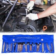 20 sztuk Radio samochodowe narzędzia do usuwania Panel drzwi Realese słuchawki Stereo Audio Keys nawigacja Dash Trim narzędzia do instalacji Kit