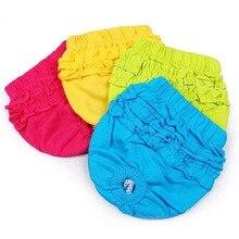 Кружевные штаны для домашних животных, нижнее белье для собак, Мужские штаны, трусы для домашних собак, милые короткие трусы, гигиенические штаны для девочек и женщин