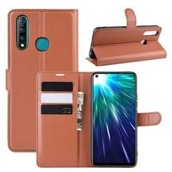 На Алиэкспресс купить чехол для смартфона simple business litchi magnetic buckle wallet leather case for vivo z5x z1 pro y7s iqoo neo book flip cover stand coque fundas