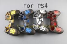 1 יח\חבילה Specital עיצוב משחק סיליקון מגן עור כיסוי מקרה החלפת עבור Dualshock 4 PS4 DS4 פרו Slim בקר