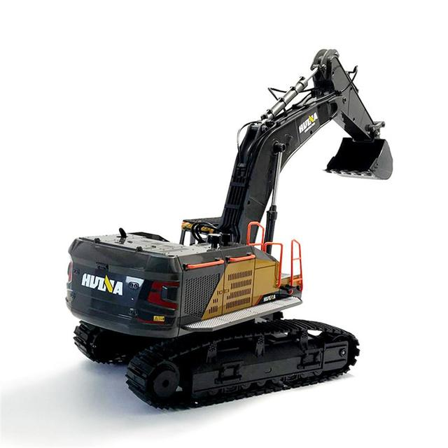 RCtown HuiNa 1:14 1592 RC Alloy Excavator 22CH Big RC Trucks Simulation Excavator Remote Control Vehicle Toy for Boys 4