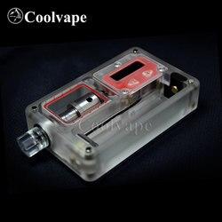 Coolvape SXK заготовка v4 70 Вт коробка BB70w коробка мод с USB портом rev.4 Прозрачный матовый акриловый с адаптером катушки nautilus