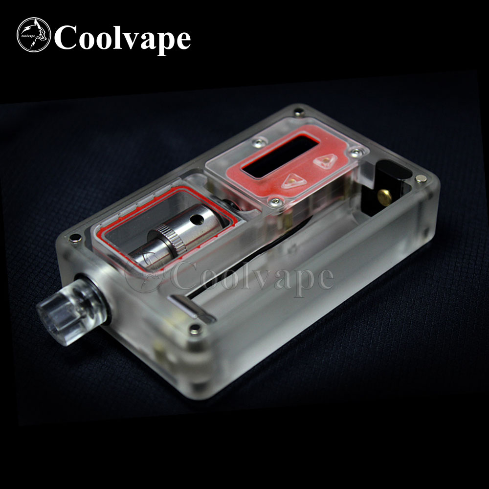 Coolvape SXK Billet V4 70w Box BB70w Box Mod With USB Port Rev.4 Transparent Frosted Acrylic With Nautilus Coils Adaptor
