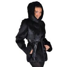 JAYCOSIN Женское пальто модное женское теплое пальто из искусственного меха зимняя куртка с v-образным вырезом однотонная Длинная Верхняя одежда женские пальто