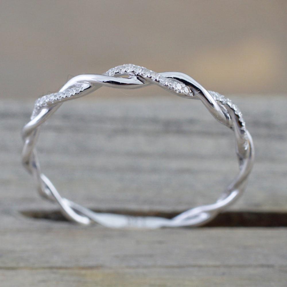 Женское Обручальное Кольцо ZHOUYANG, тонкое обручальное кольцо серебряного цвета с фианитом, модный подарок, ювелирные изделия DZR018
