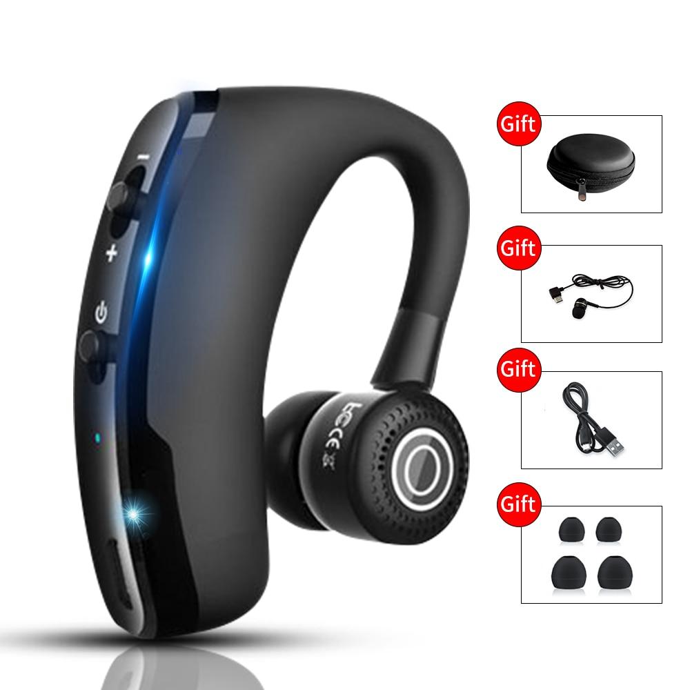 V9 новые обновленные Bluetooth 5,0 наушники беспроводные наушники Blutooth Handsfree спортивные наушники игровая гарнитура