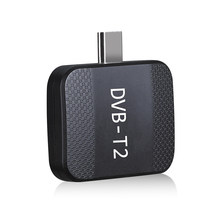Dvb t2 TV Stick Mini Digital Portable TV Tuner Hevc 264 TDT Support EPG Wifi DVB T ATSC ISDB-T Receiver For Android Phone PC(China)