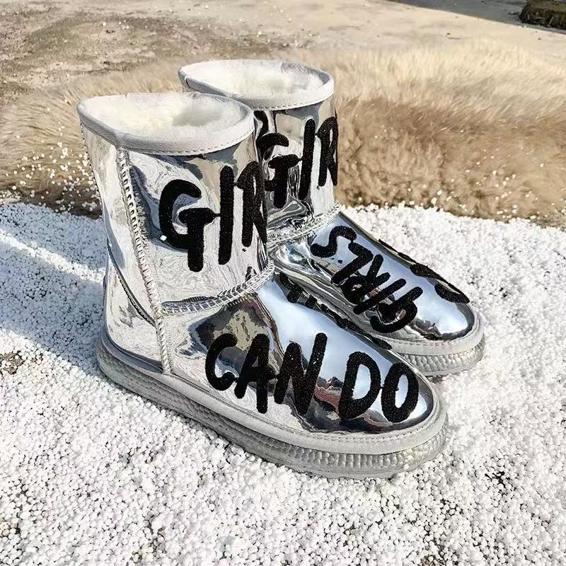 The highest quality women's snow boots of Australian brand in 2020, truly waterproof, the latest women's shoes, free delivery